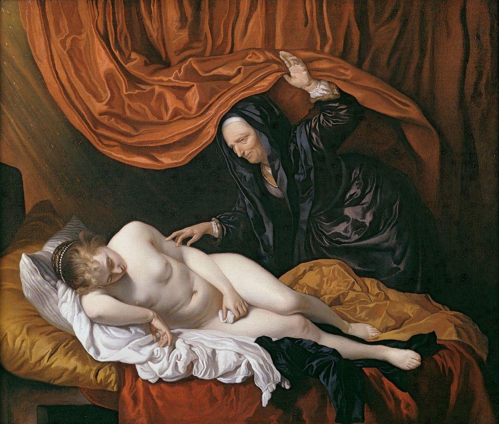 Danaé - Jacob Van LOO - 1614 - 1670