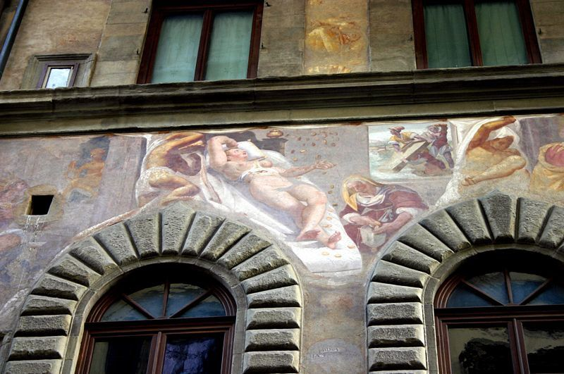 Pallazo Mellini Fossi - 1600 - Florence