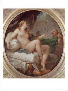 Danaé - Natoire - 1735 - Musée des beaux arts de Troyes