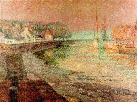 Le port, Landerneau - Henri le Sidaner