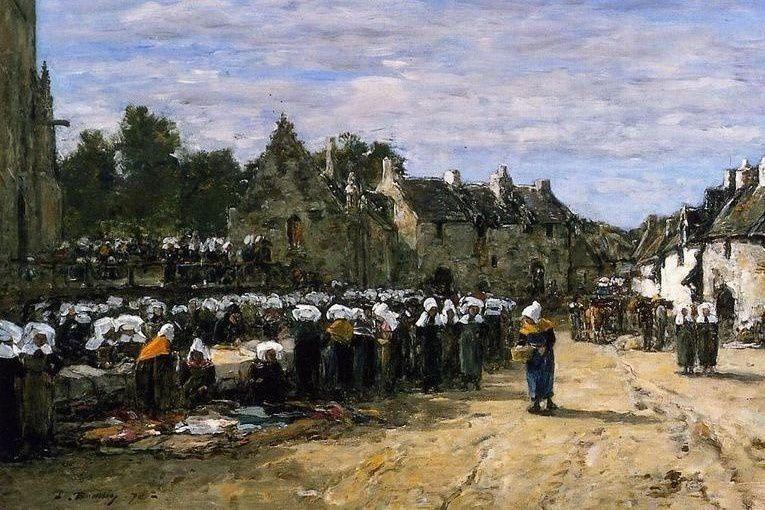 Un chevalet sur l'Elorn, Landerneau regards de peintres
