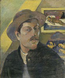 Paul Gauguin - Portrait de l'Artiste