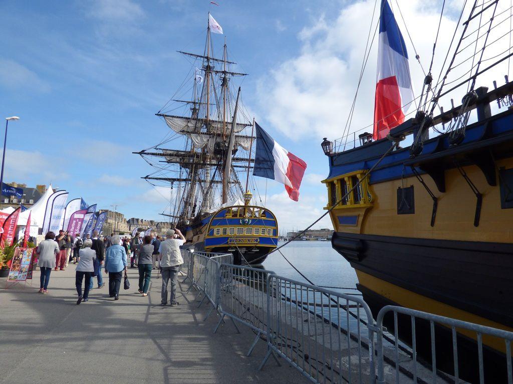 En prélude aux fêtes maritimes internationales Brest 2016