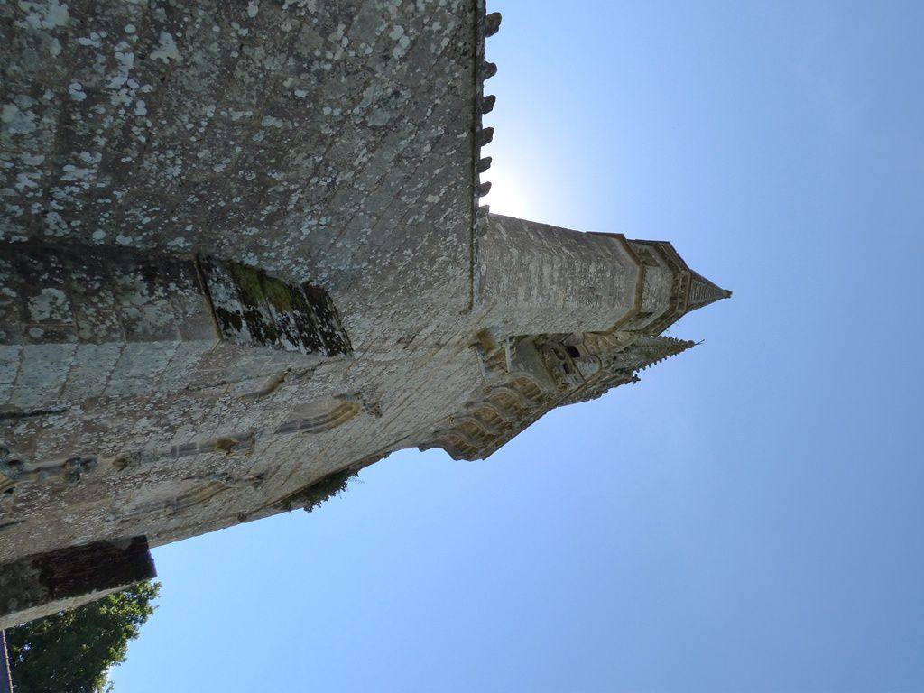 Le Faouët : la chapelle St Fiacre