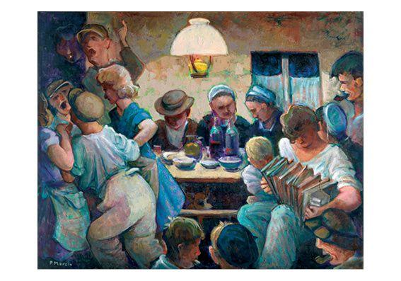 Bal chez Anna à Plouyé - Paul Marzin