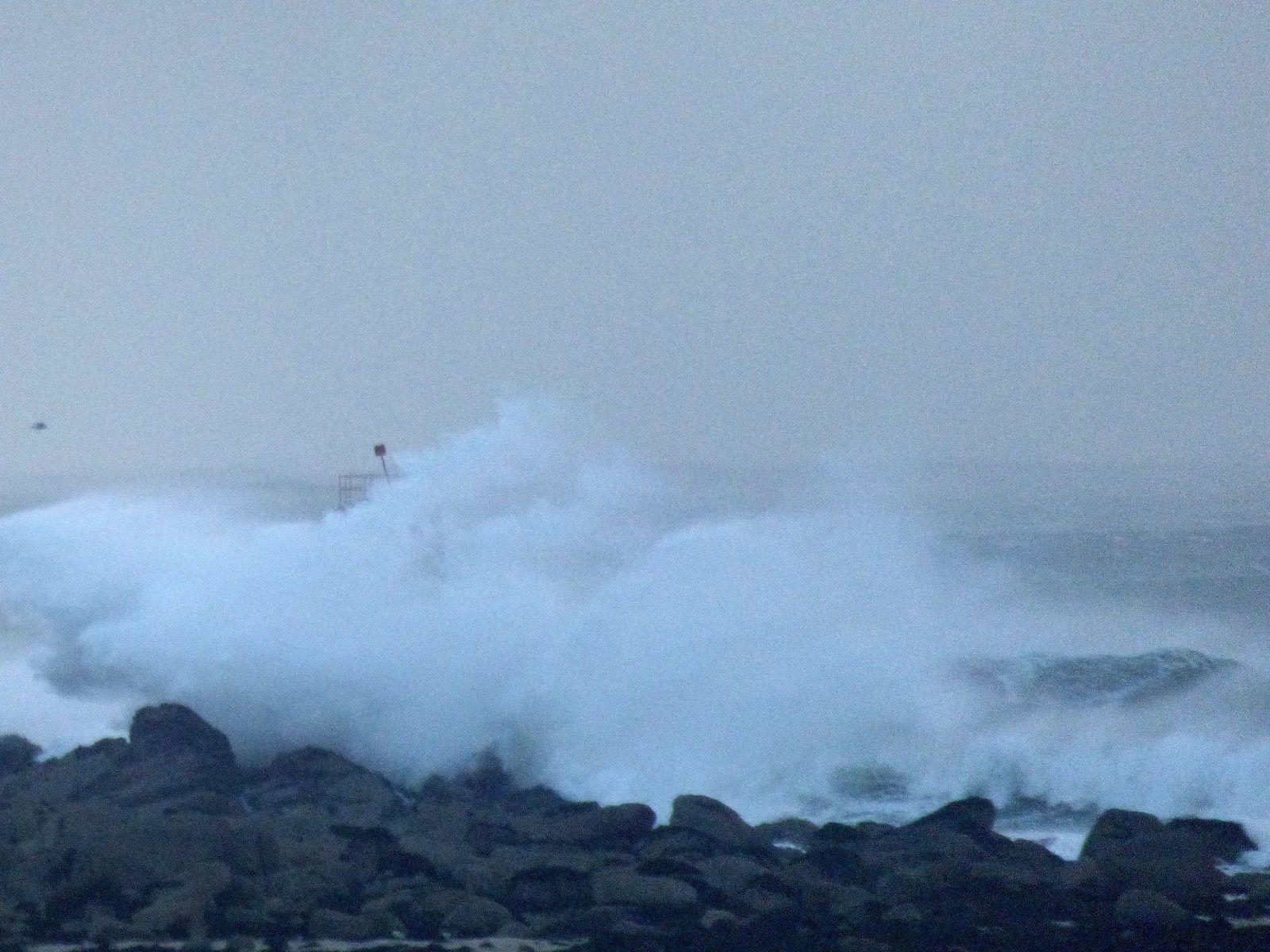 Coup de vent à Plouneour Trez