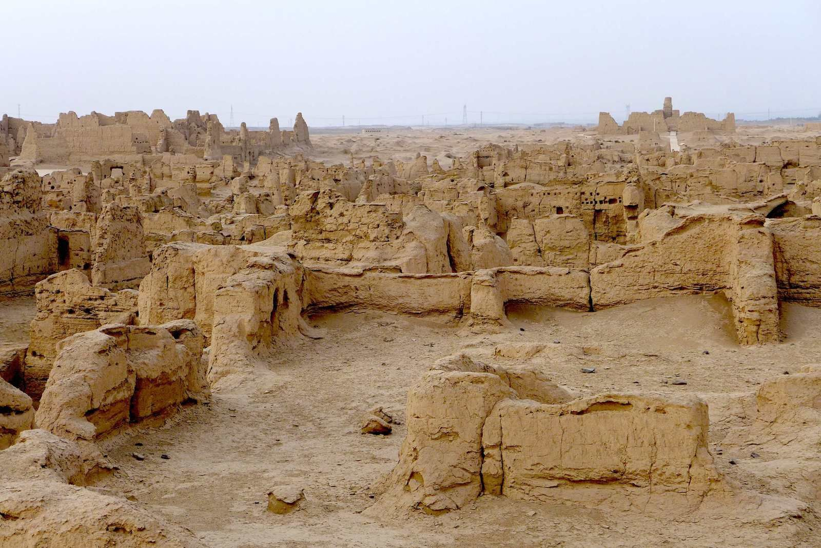 Les ruines de Jiaohe
