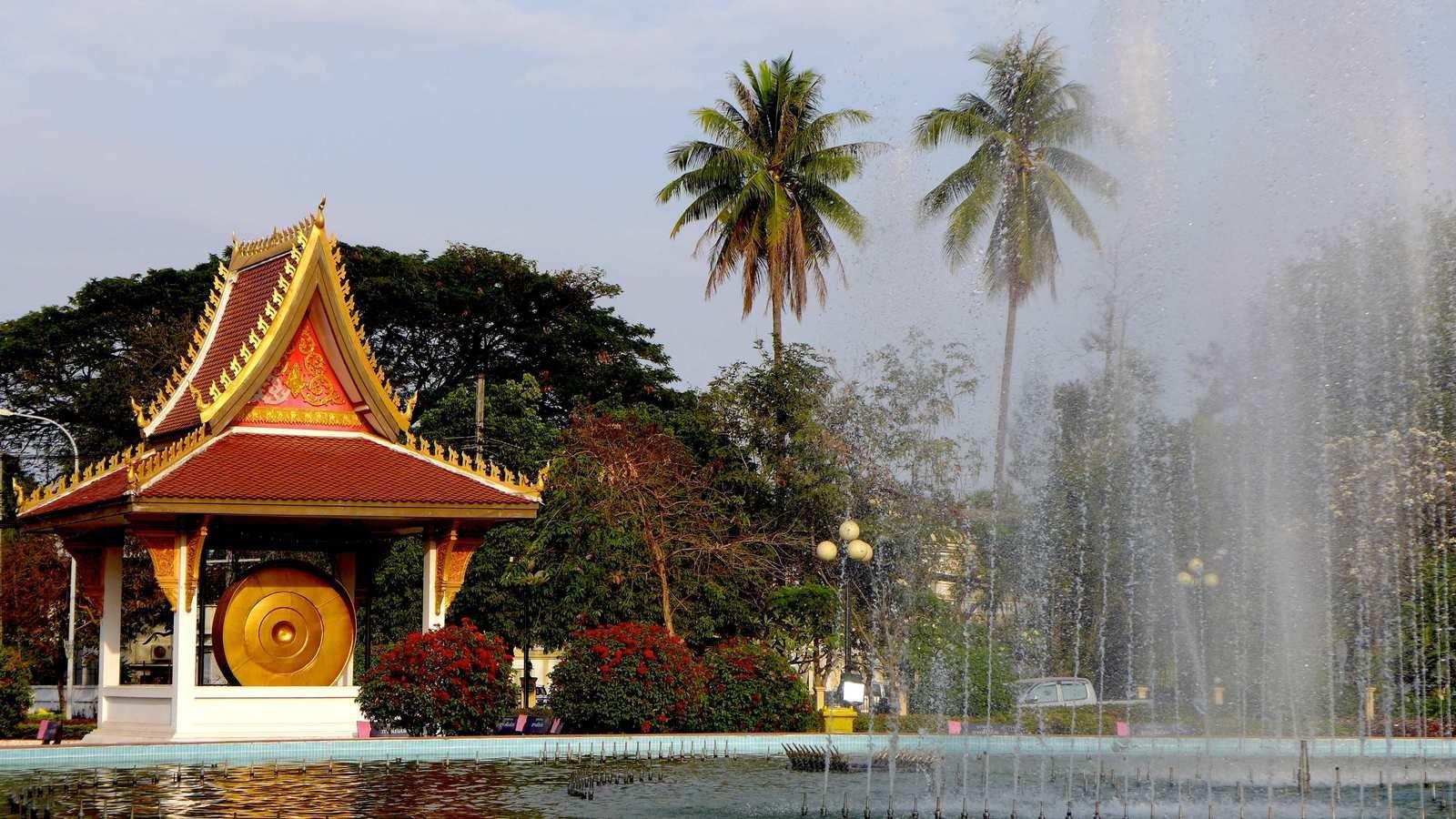 Quelques images prisent à Vientiane