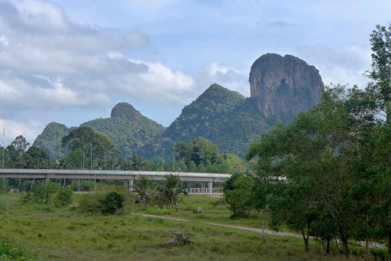 trajet en Thaïlande