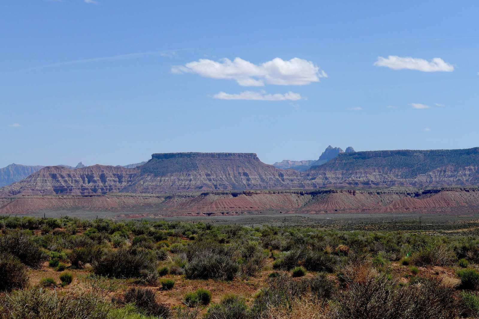 Sur les routes pour Monument Valley