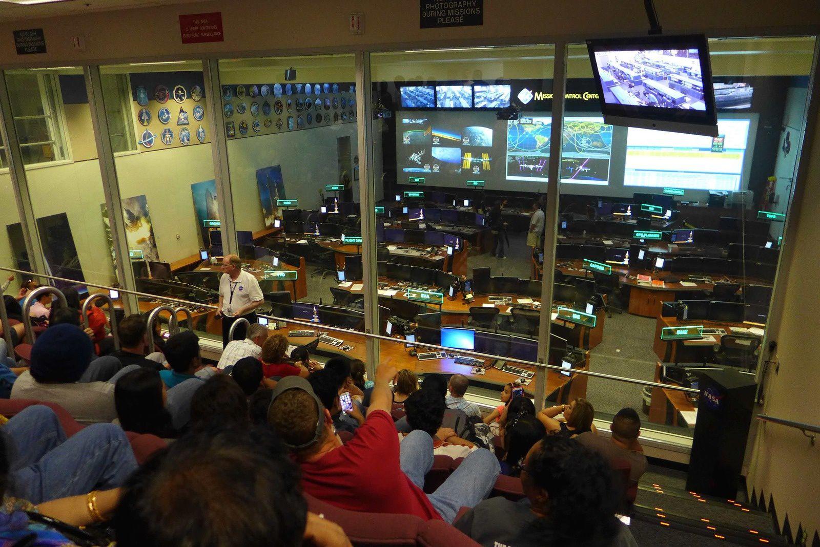 Le célèbre salle des contrôles !!!
