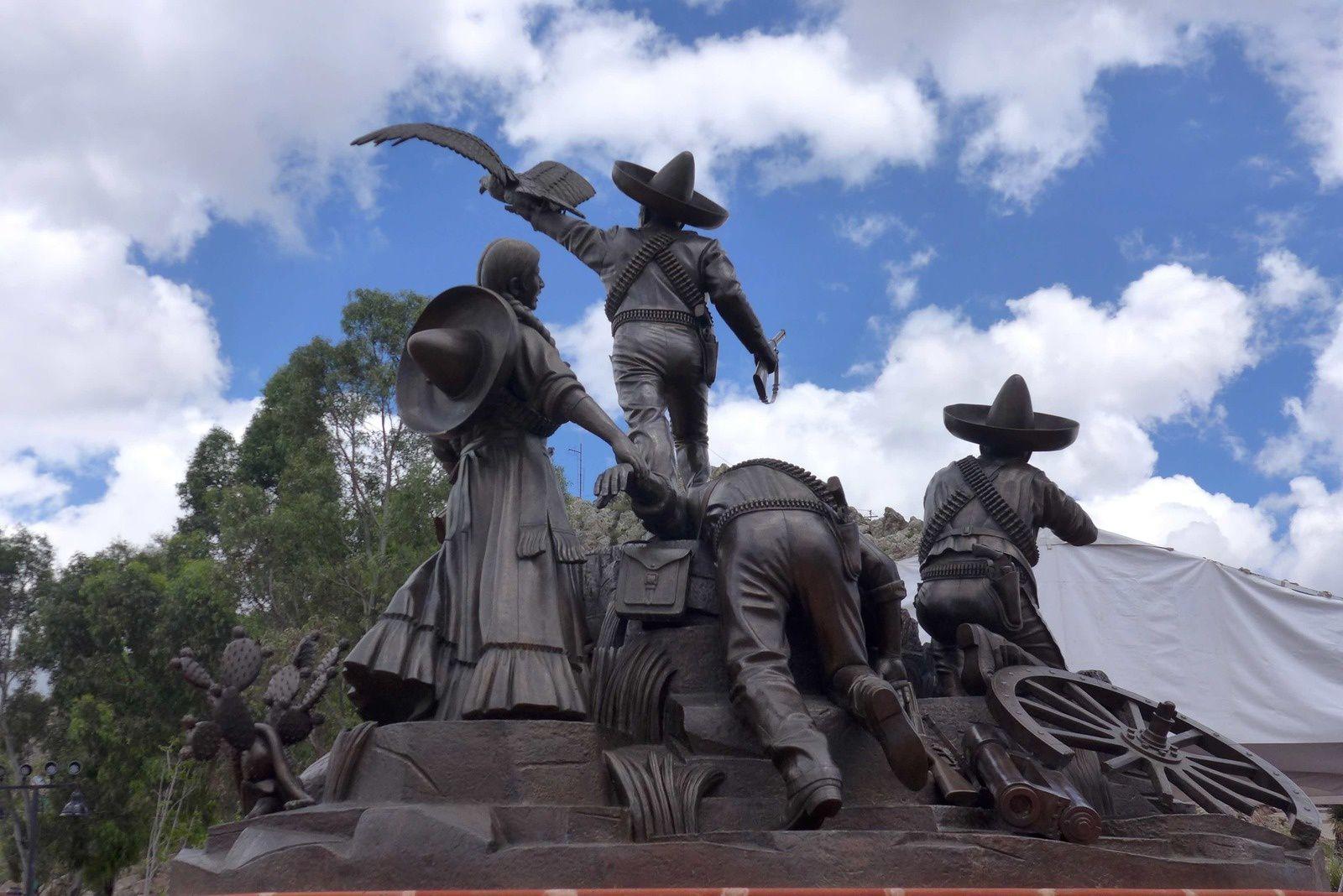 Vvue de Zacatecas, Cerro de la Bufa,