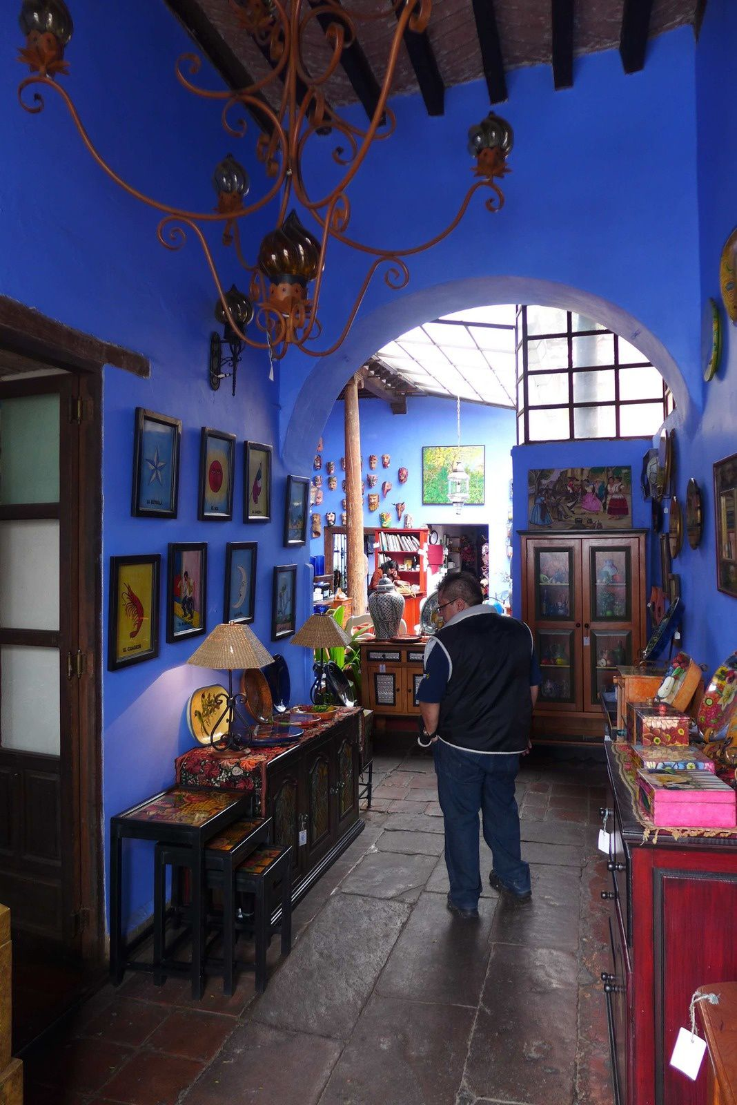 Les boutiques d'artisans