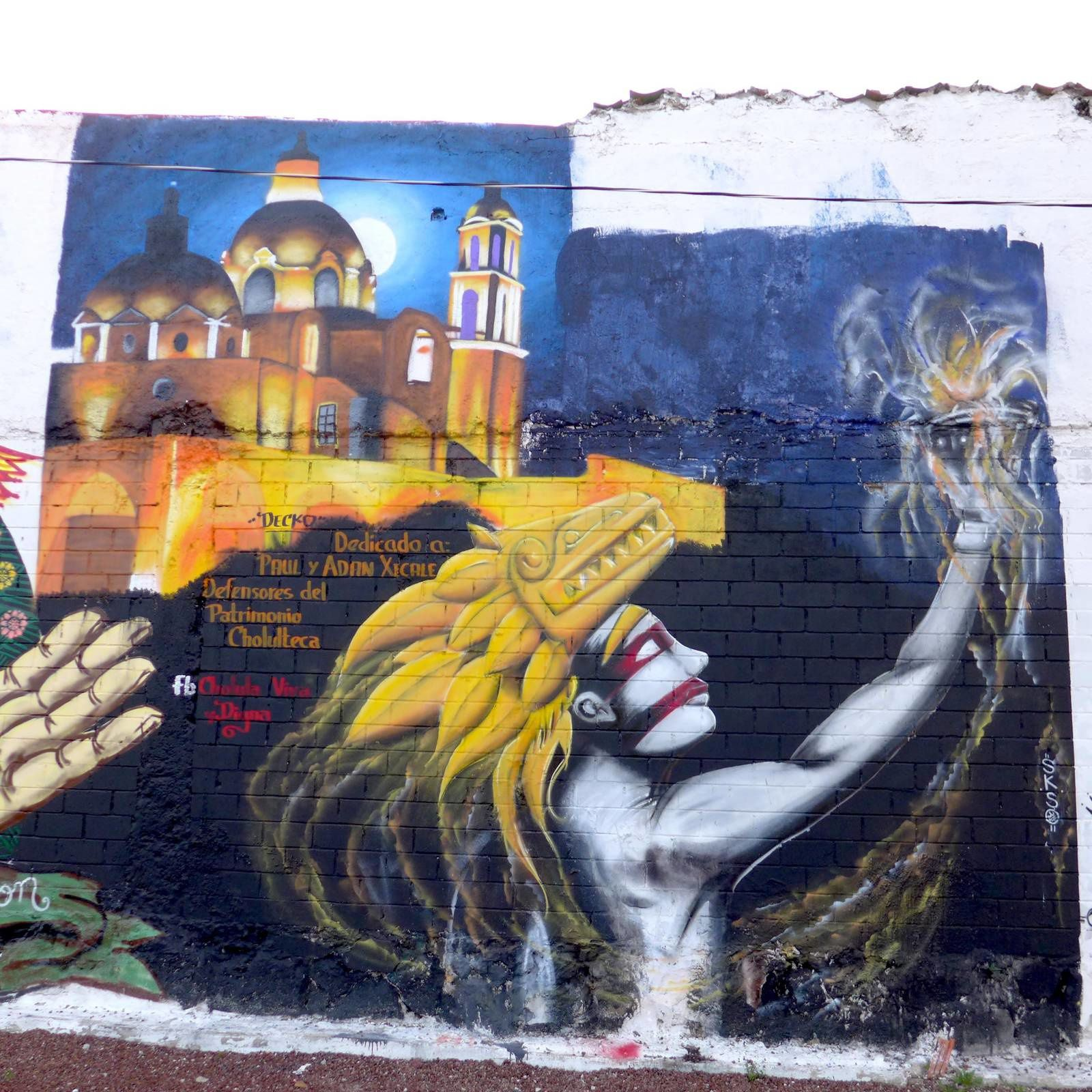 Peintures murales de Cholula