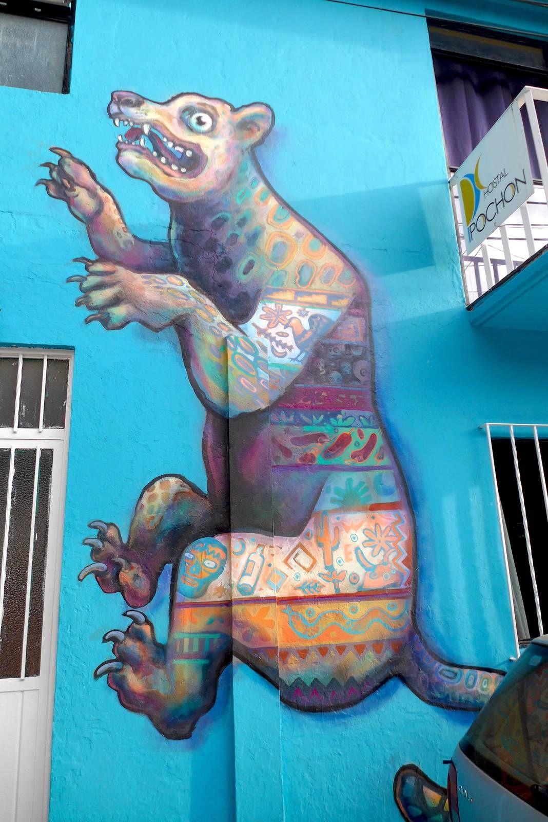 Peintures murales à Oaxaca