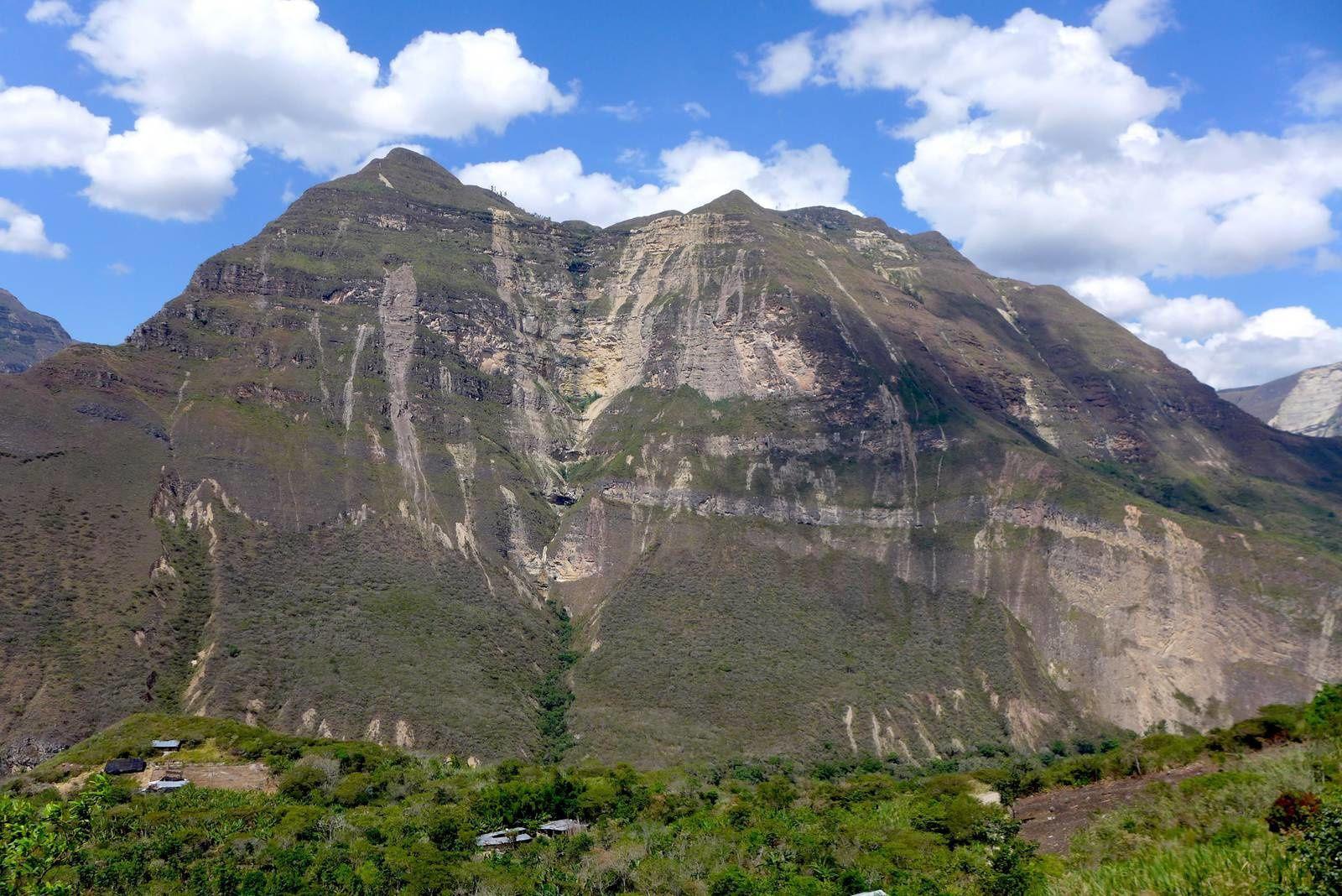 Paysage vue lors de notre montée à San Pablo