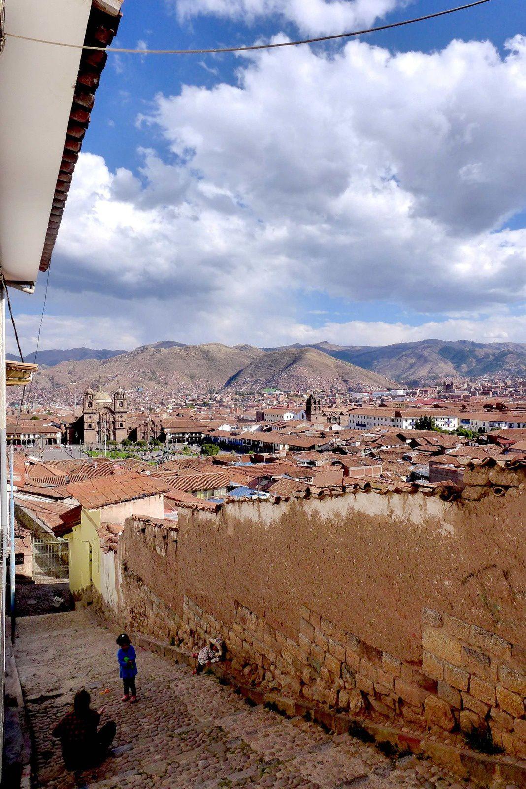 """Prenons un peu de hauteur pour terminer ce petit voyage dans Cuzco le """"nombril du monde"""" pour les Incas."""