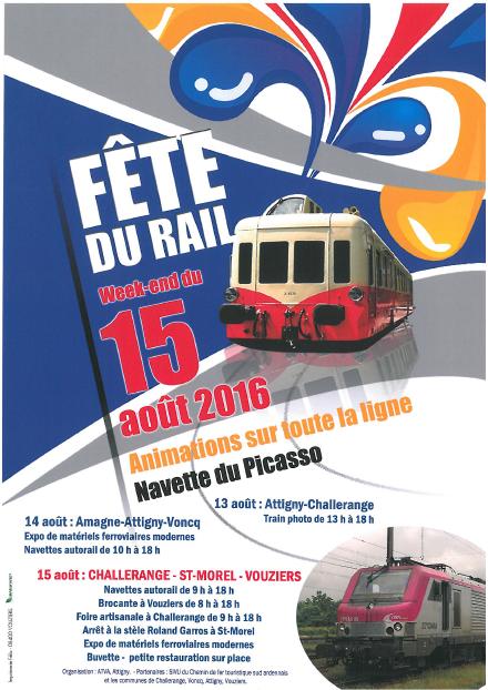 Ce 15 août j'ai un stand poésie à la fête du rail brocante de Vouziers ! de 10 à 18h, à bientôt !
