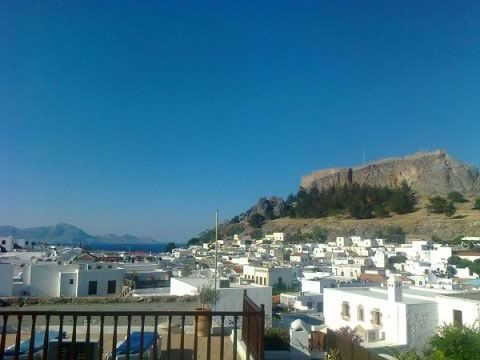 Lindos, île de Rhodes