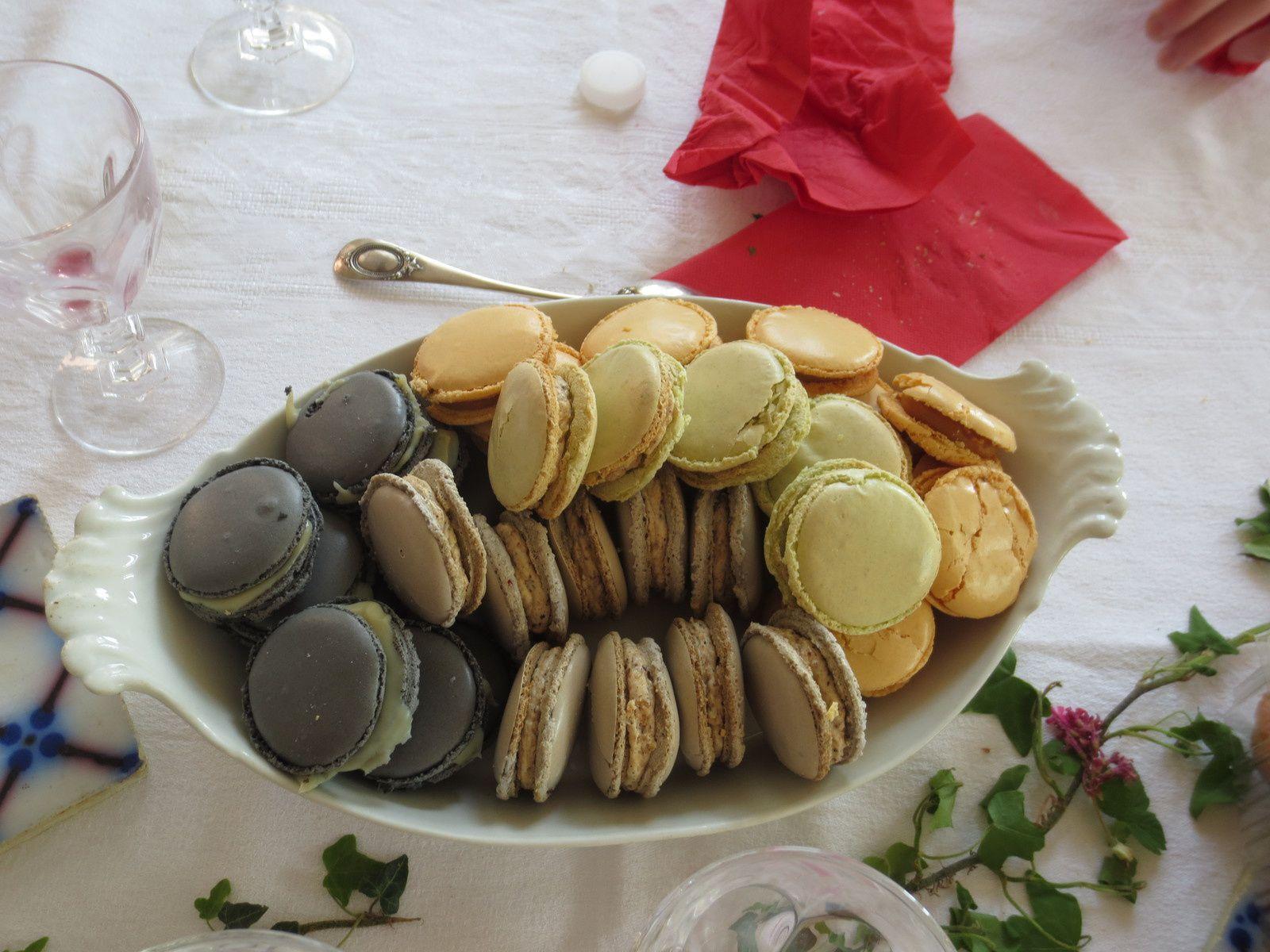 Mise à l'honneur N°1 : macarons de Julie