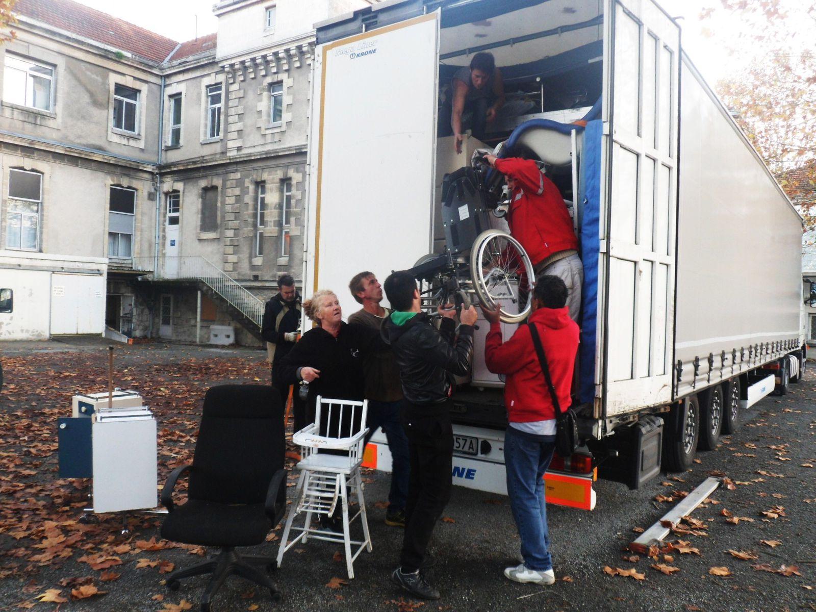 Le CHU Pellegrin donne 78 lits pour la LETTONIE