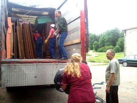 4 associations aident AIMA à envoyer son 42ème camion en Lettonie