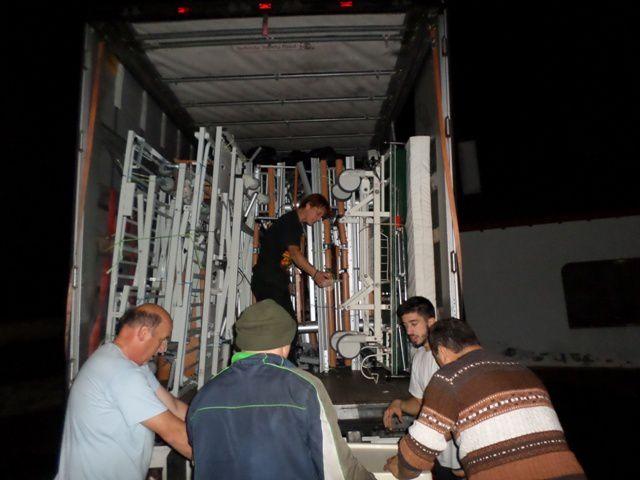 AIMA envoie un camion, son 88ème, à une association de Lettonie, NSUS Society