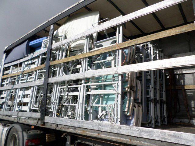 Le matériel médicalisé vient principalement de l'hôpital de Castelsarrasin...