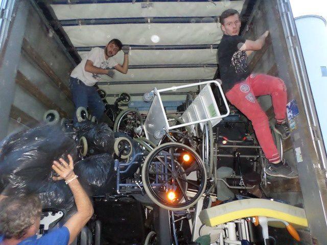 Le 92ème camion d'AIMA part ce 1er février pour la Lituanie... chargé de super matériel !