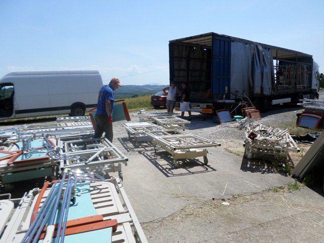 Le 95ème camion d'AIMA part ce 26 mai pour une maison de retraite de Lettonie à Jurkalnes
