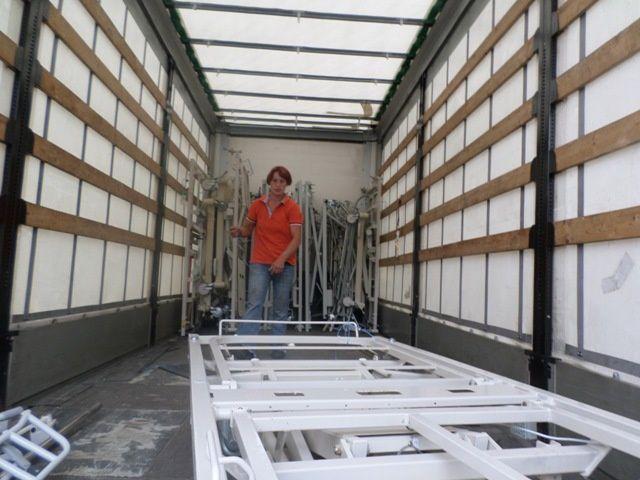 AIMA envoie son 96ème camion d'aide humanitaire, à destination de l'hôpital de Salcininkai en Lituanie