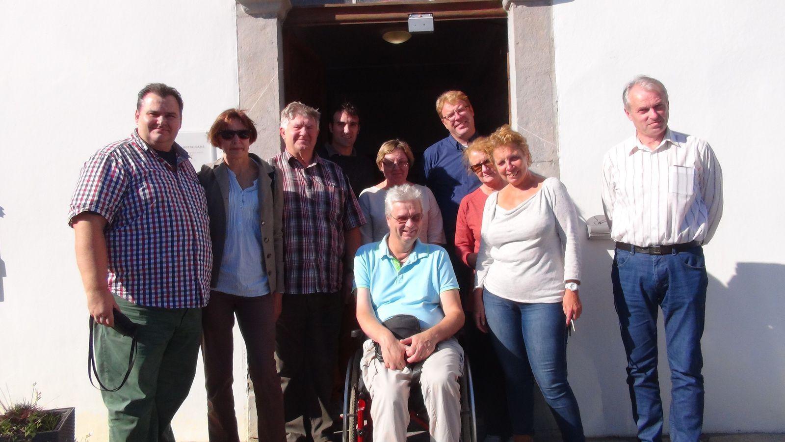 AIMA organise un voyage d'études pour un groupe de directeurs d'institutions spécialisées de Lituanie