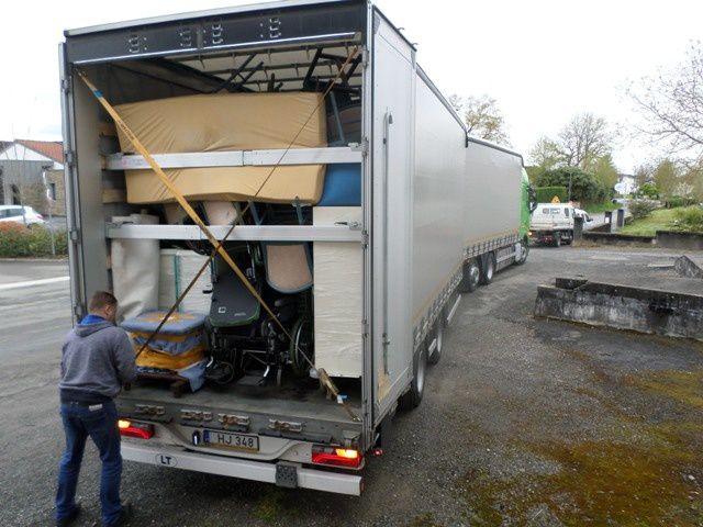 Petit compte-rendu en images du 111ème camion envoyé par AIMA, cette fois-ci pour RIGA, en Lettonie