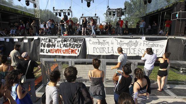 Solidarité avec le mouvement des intermittents du spectacle et des précaires !