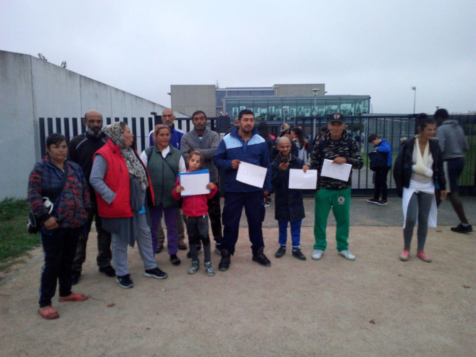Dézingage d'un camp de Roms aux abords du Collège Toulouse-Lautrec : Circulez, y a rien à voir !