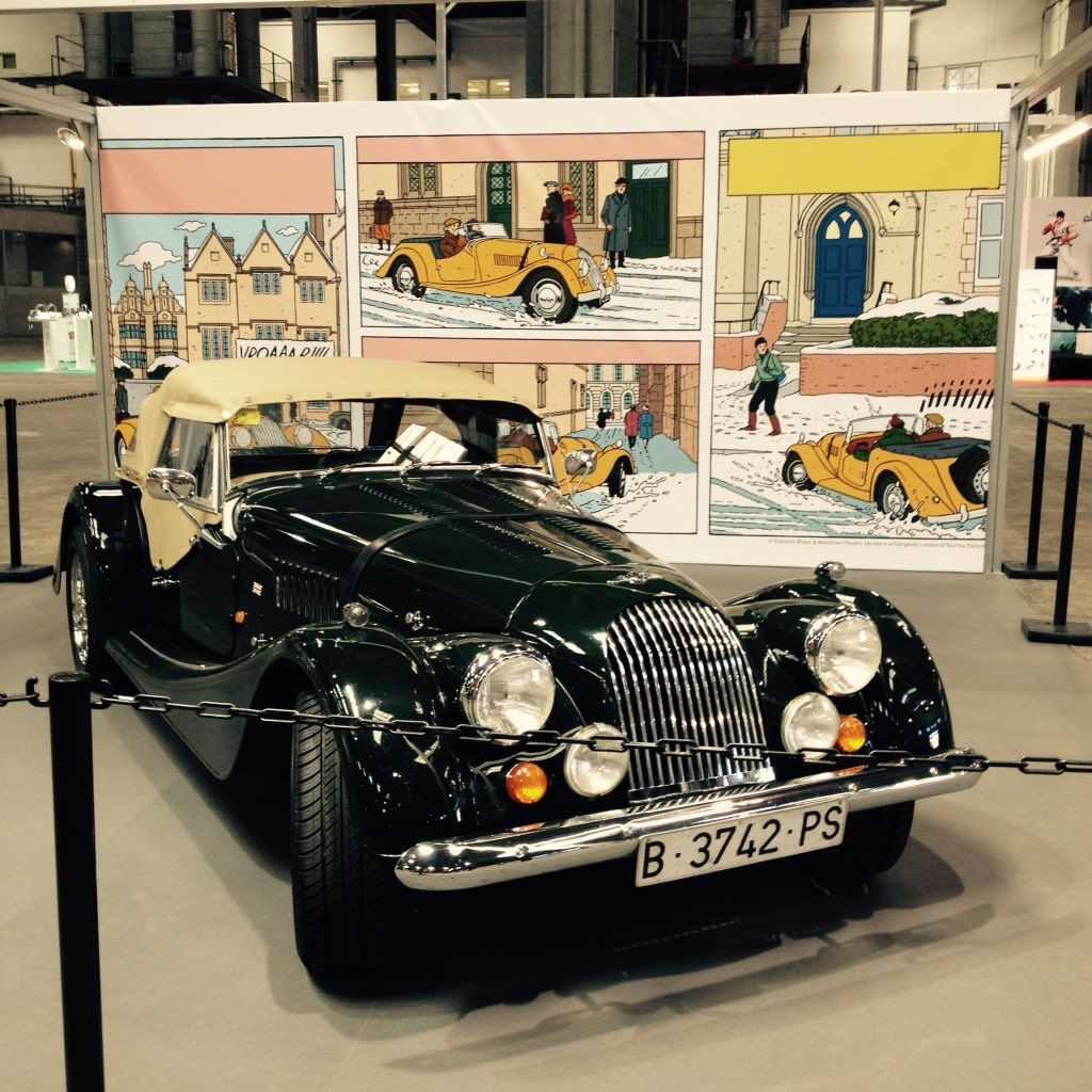 Tribute, panel and car: Blake and Mortimer are on top of the news