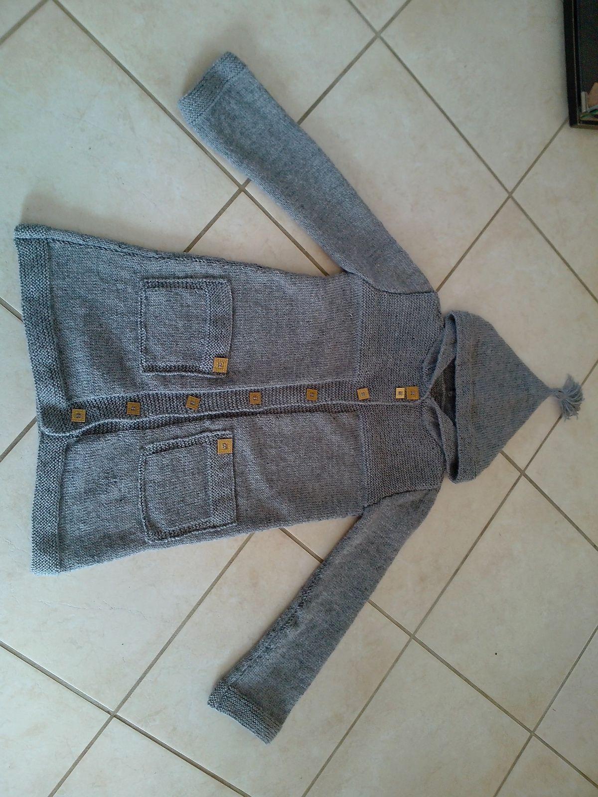 manteau a capuche pour LoU