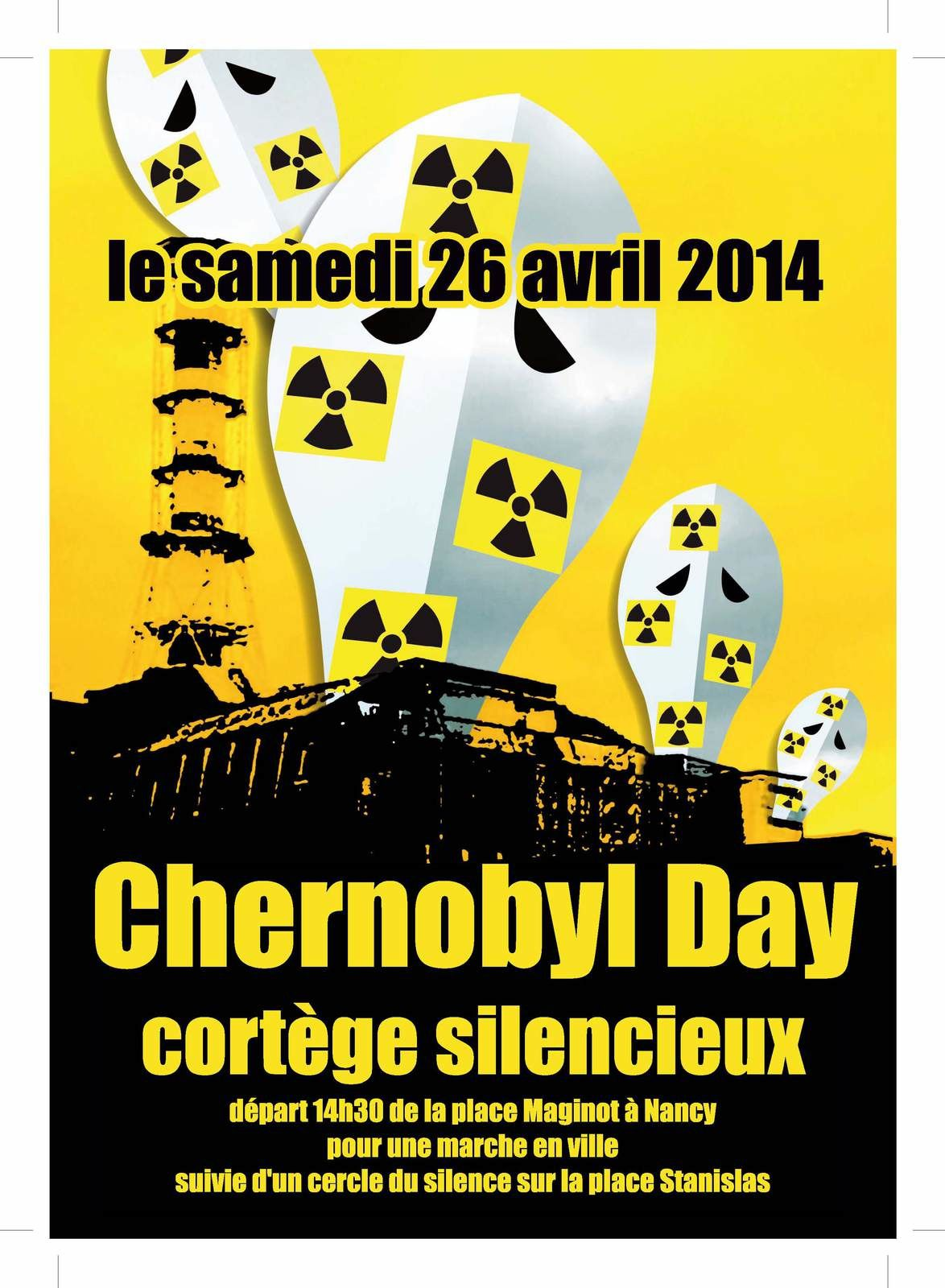 Nancy - samedi 26 avril - Chernobyl day