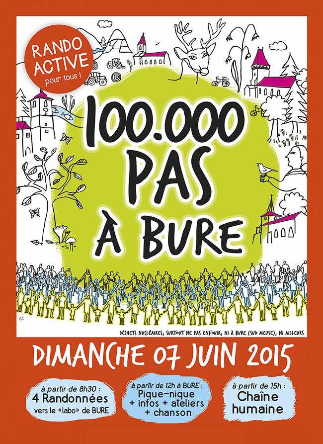 100 000 Pas à Bure - Dimanche 7 juin 2015