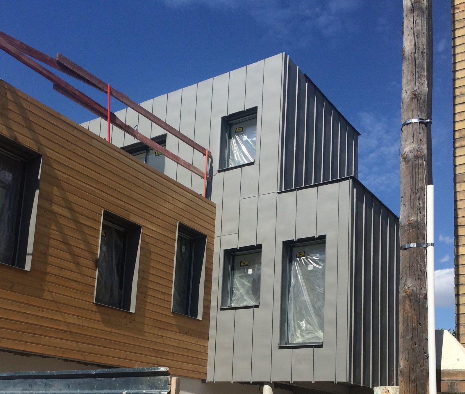 projet en cours extension et sur l vation d 39 une maison individuelle 92700 colombes omar. Black Bedroom Furniture Sets. Home Design Ideas