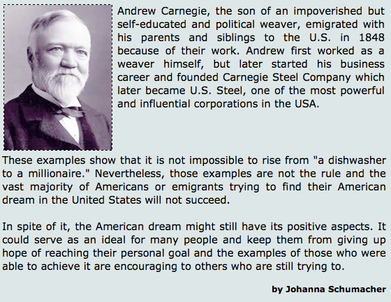 The American Dream - Is It Still Alive?