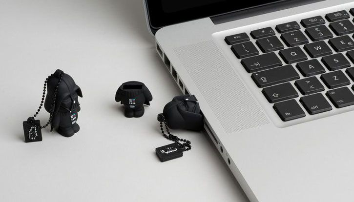 Test - Porte clé / Clé USB Star Wars Dark Vador – 8 Go