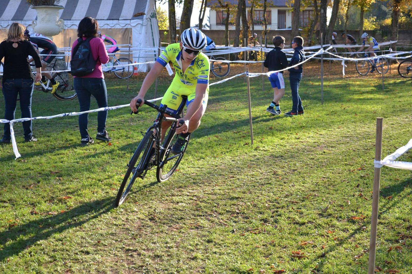 Dimanche 01 novembre : Cyclo cross de Pont Chrétien 36