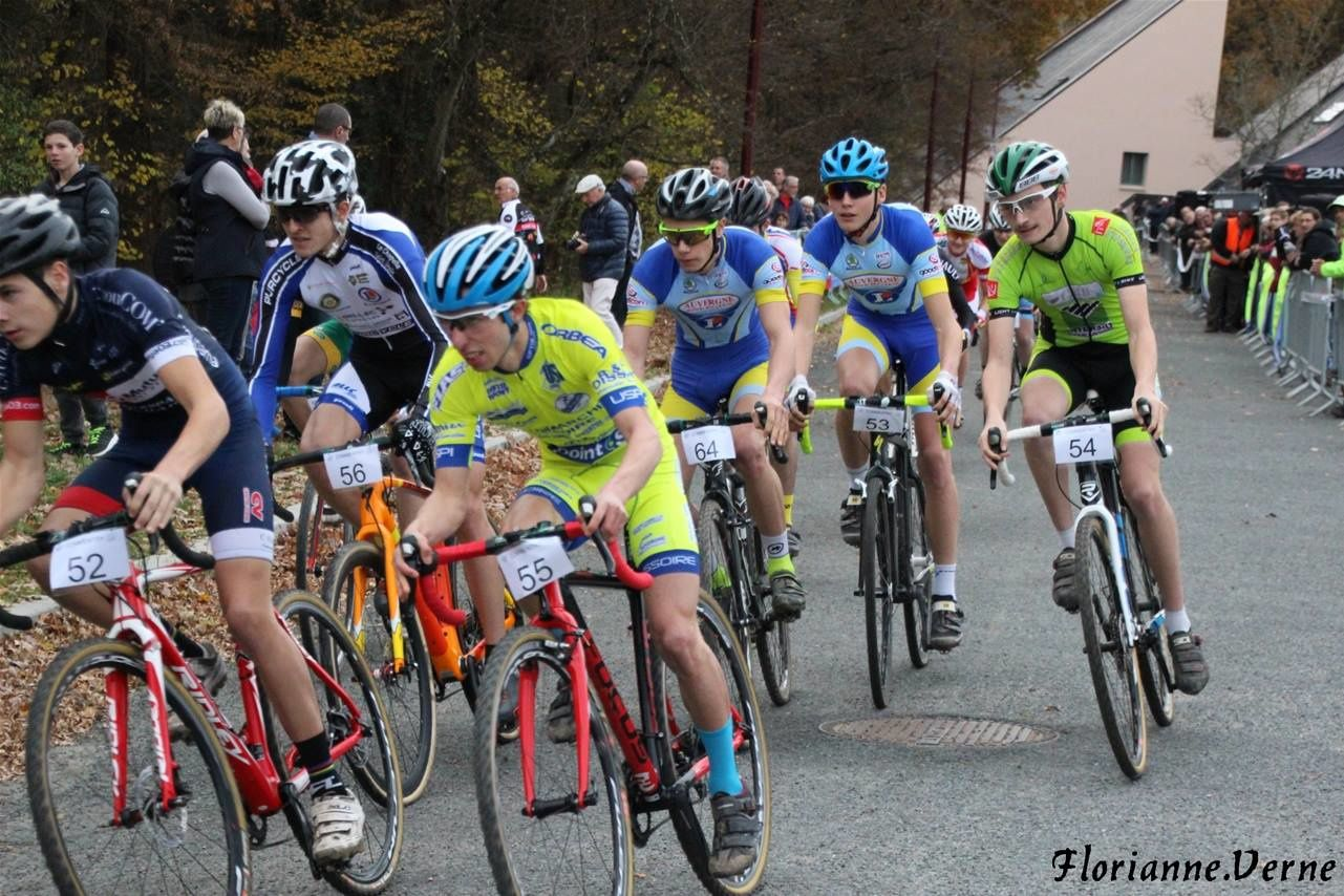 Dimanche 20 novembre :  Cyclo cross de Commentry Junior