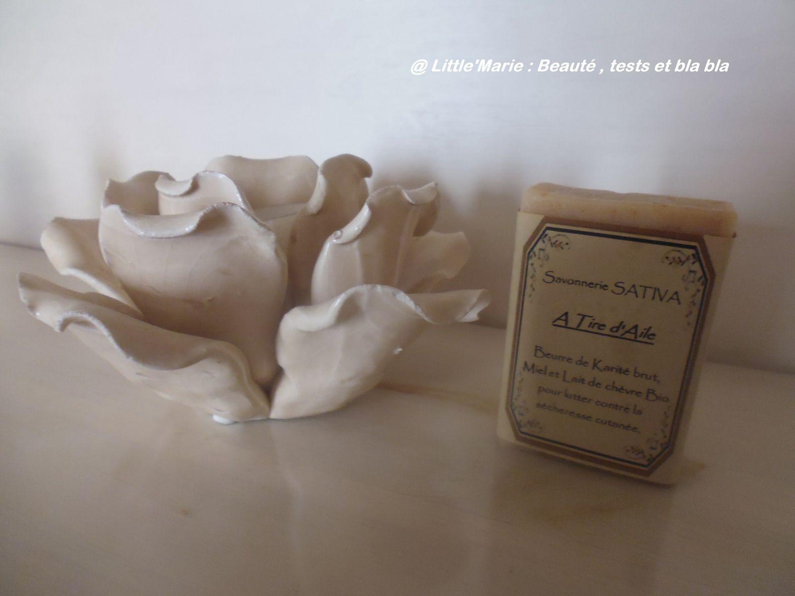 Sativa : une savonnerie authentique qui prend soin de moi :)