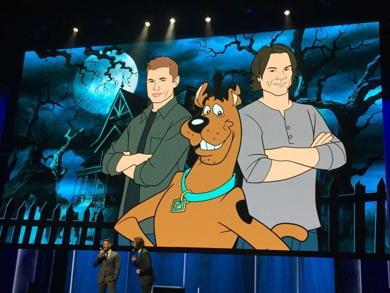 Cross-over avec Scooby-Doo