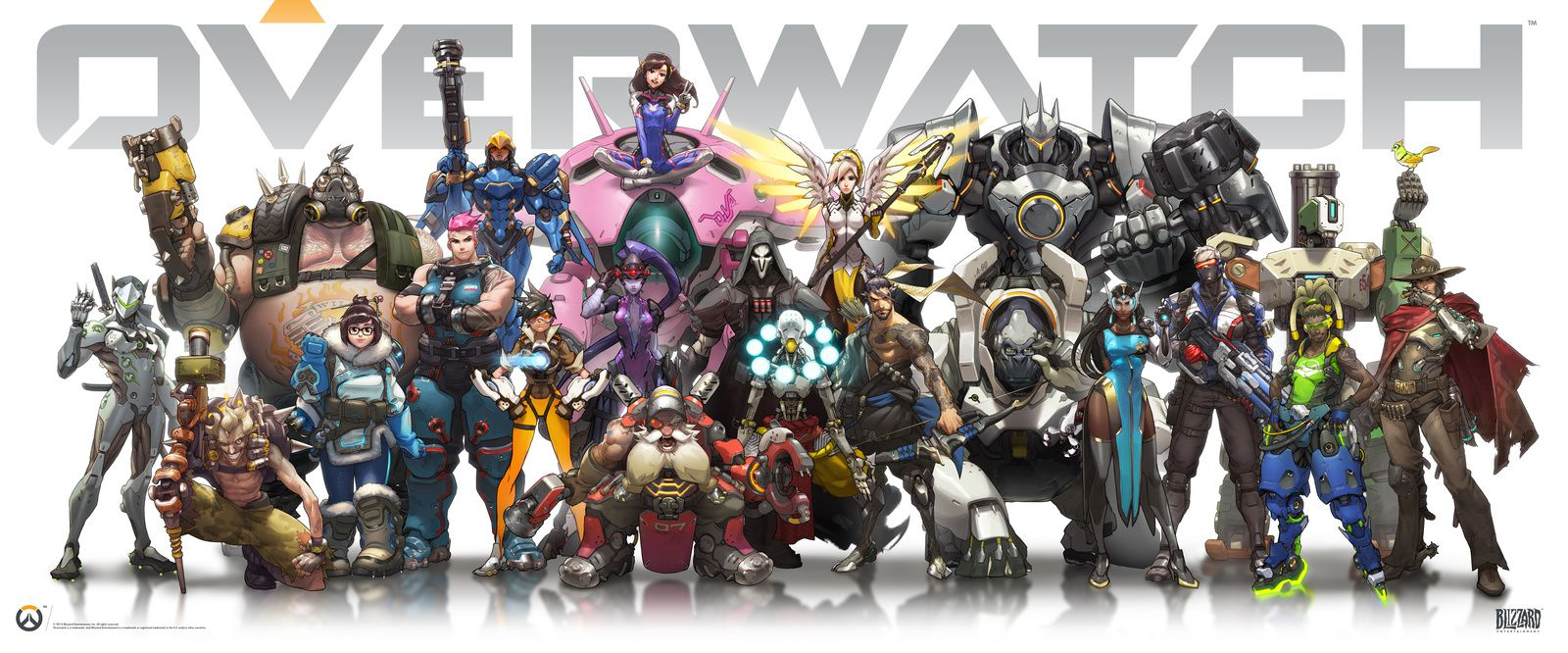 Personnages d'Overwatch