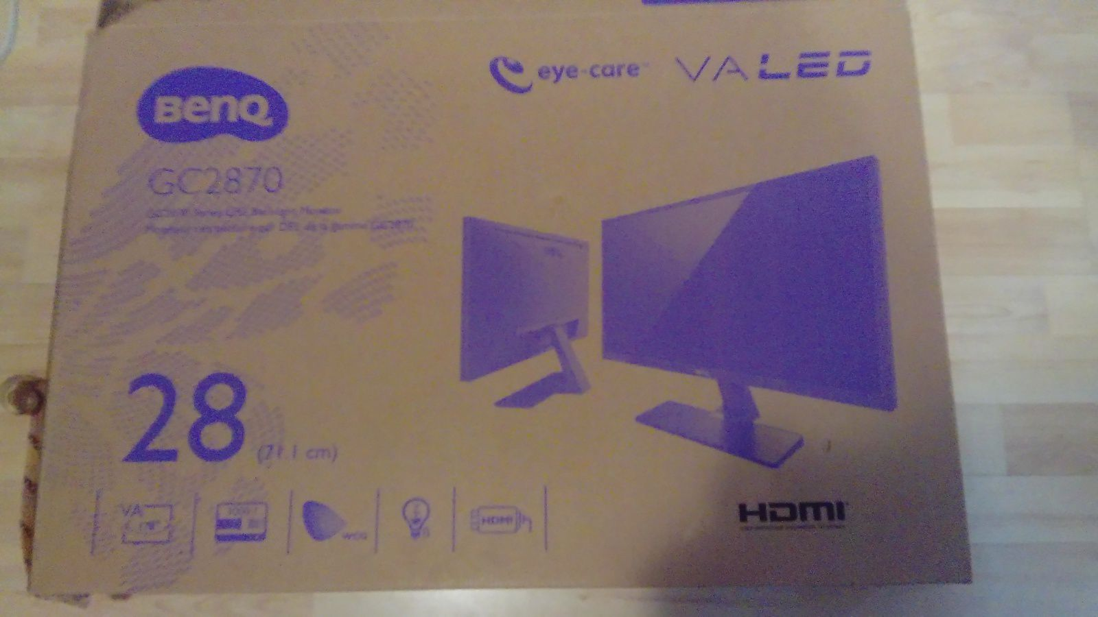 Test De L 39 Ecran Led Gc2870h Full Hd De La Marque Benq