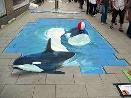 la piscine avec les orques, super bien fait !