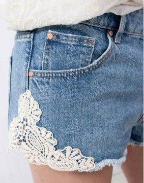 DIY: Customiser un short sans coudre